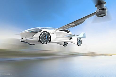 Aeromobil > Industrielle Renaissance> Dassault Systèmes®