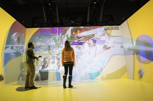 NIAR VR-Cave für Studenten > Industrielle Renaissance > Dassault Systèmes®