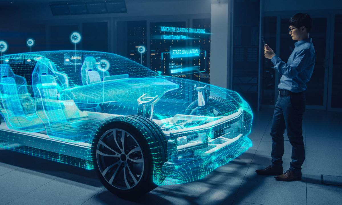 Virtual Vehicle Innovation Showroom