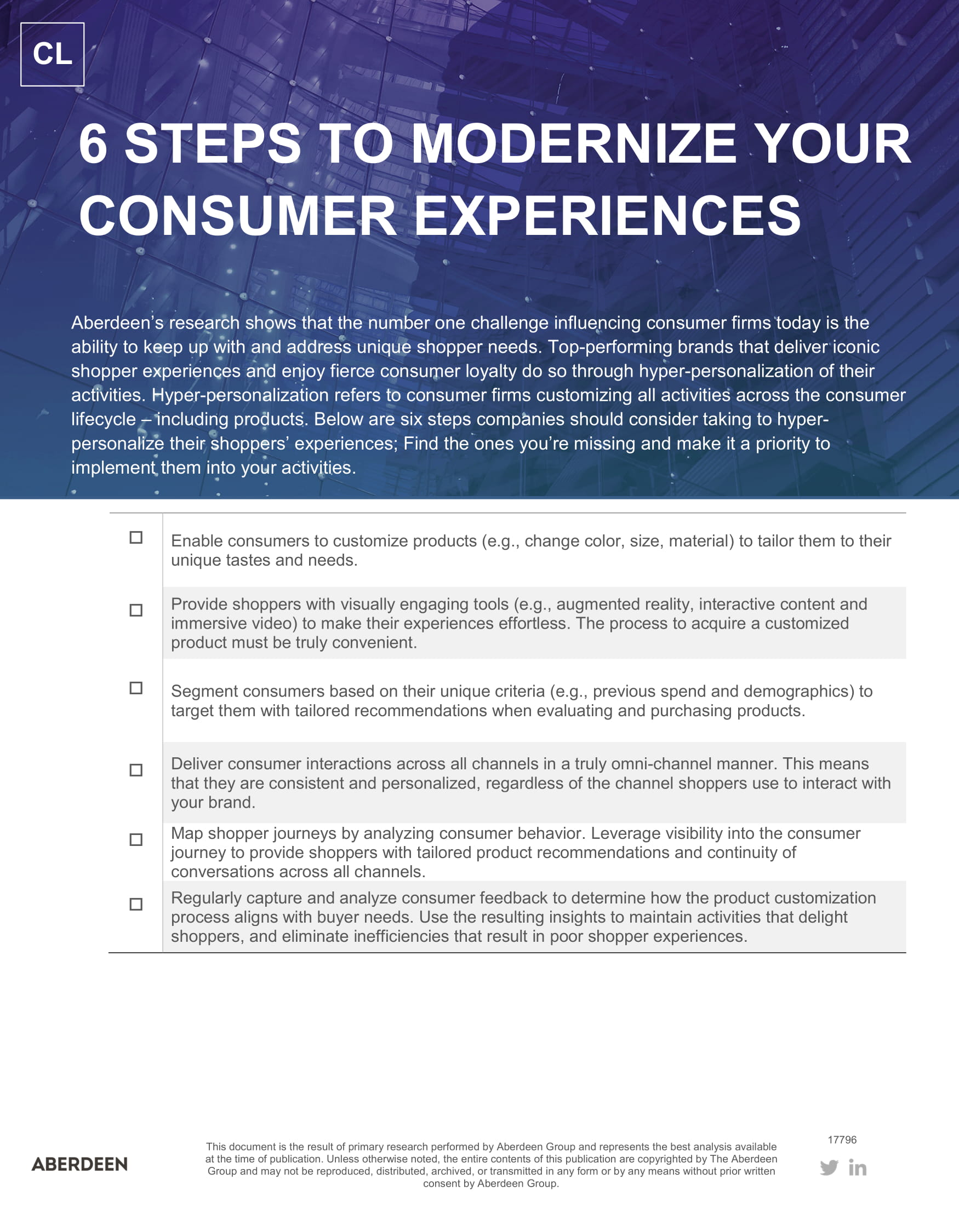 The New Consumer > 6 Steps to Modernize your Consumer Experiences > Dassault Systèmes®