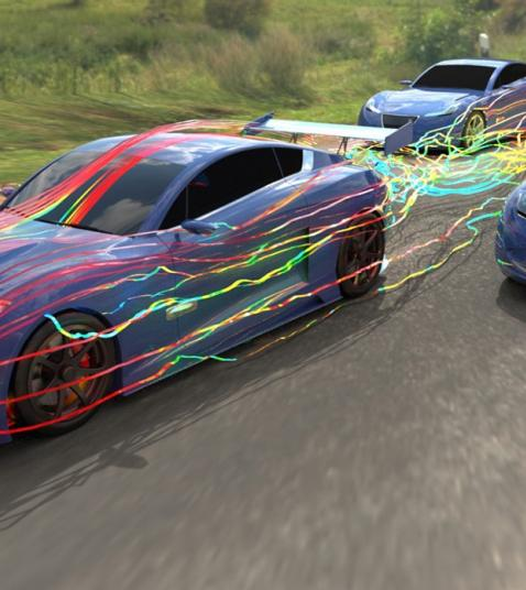 SIMULIA PowerFLOW & Automotive Megatrends Webinar > Video Image Still > Dassault Systèmes
